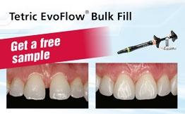 Free Sample Tetric EvoFlow Bulk Fill