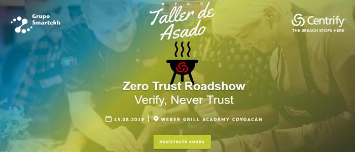 ¡Reserva tu lugar para el Zero Trust Readshow aquí!