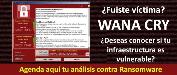 Realiza tu analisis contra ransomware aqui