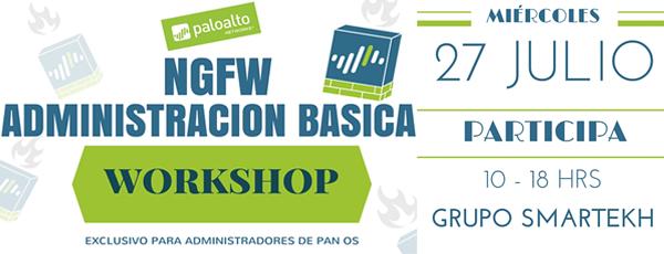 Participa en el workshop de Palo Alto Networks
