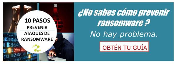 Tu guía de recomendaciones vs ransomware