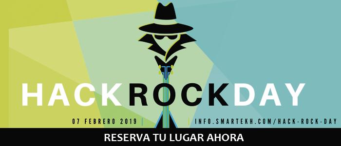 ¡Unete al desafio de ciberseguridad Hack Rock Day!