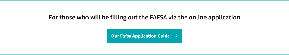 View Our FAFSA Application Guide