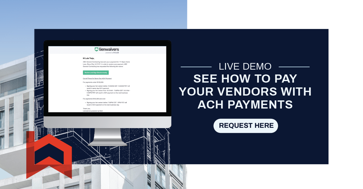 LIVE DEMO SEE HOW TO PAY YOUR VENDORS WITH ACH PAYMENTS
