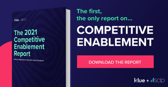 Klue's 2021 Competitive Enablement Report