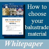 Download our guide on balustrade material