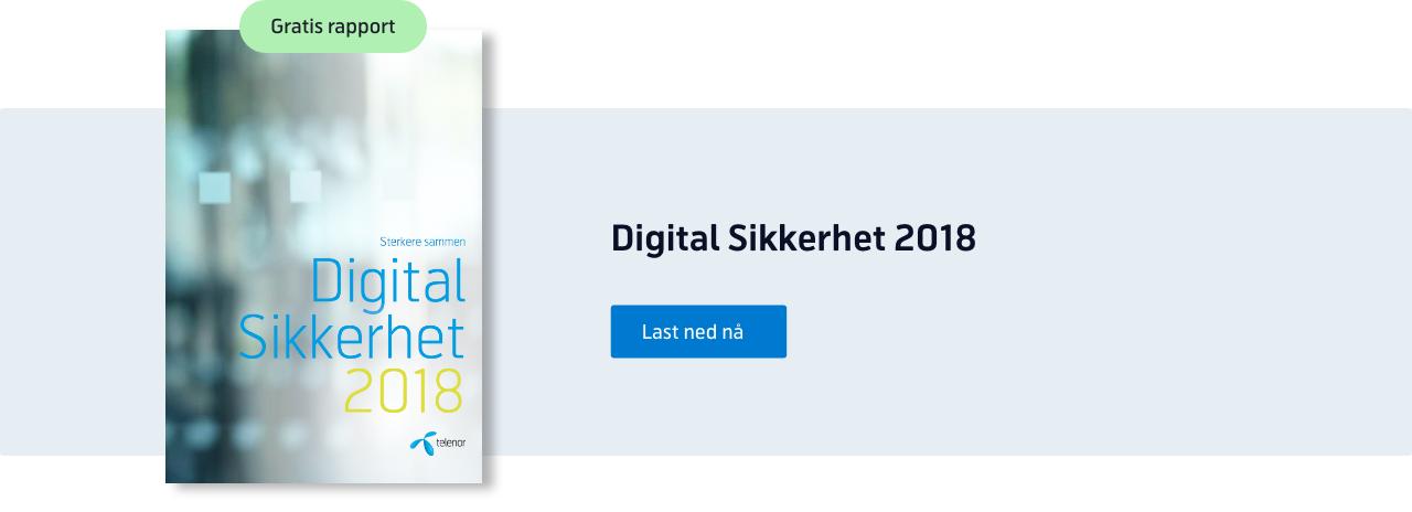 Last ned e-bok: Digital sikkerhet 2018