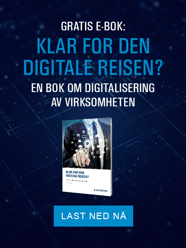 Datametrix test digitalisering.
