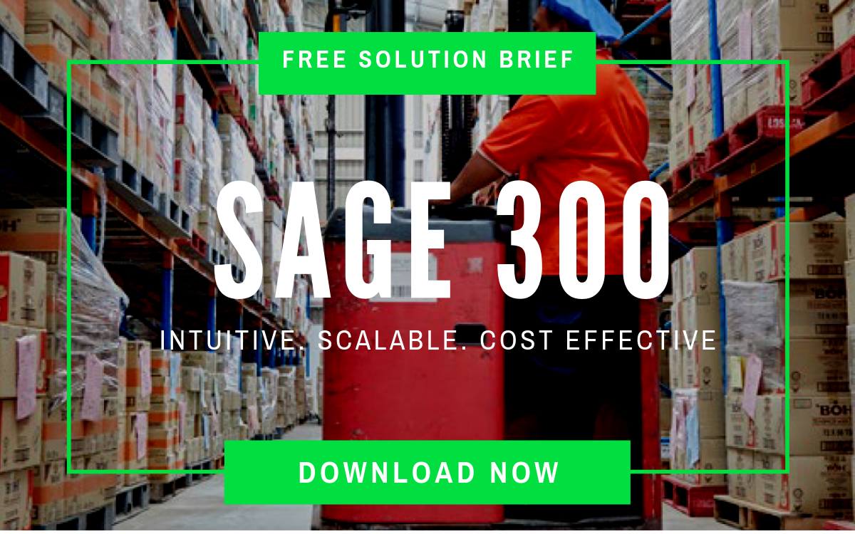 Get SAGE 300 Features Brief
