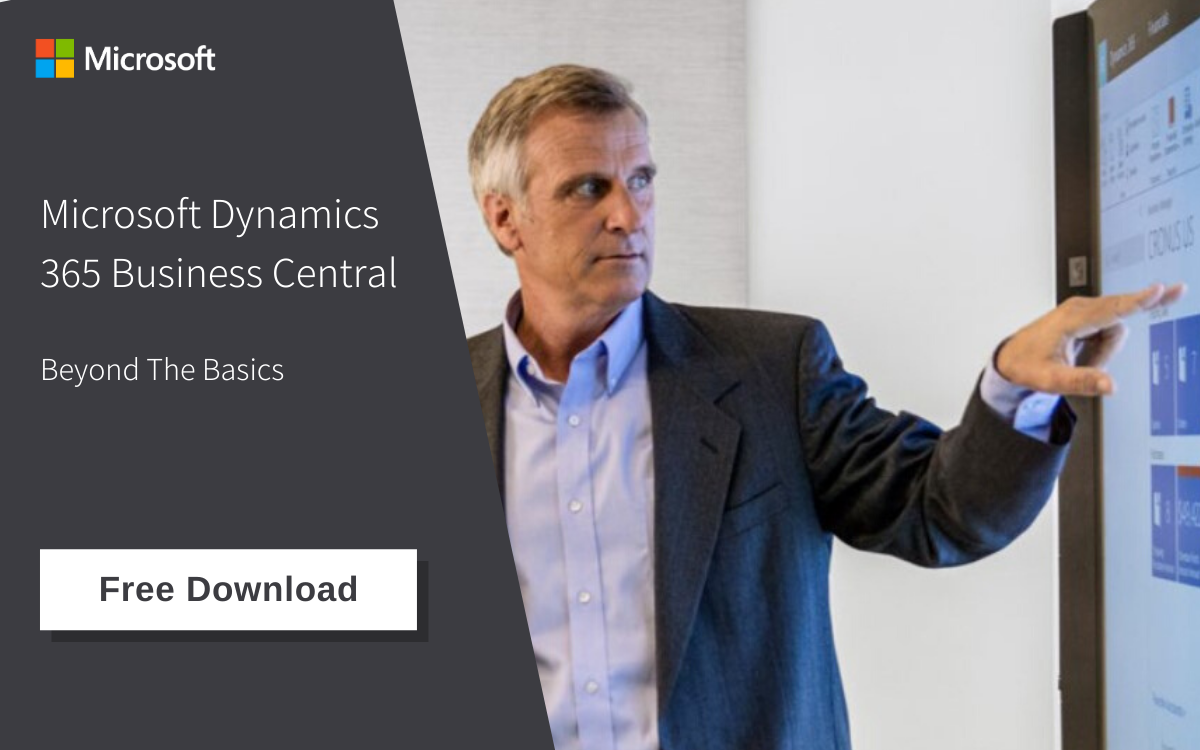 Microsoft Dynamics 365 Business Central Fact Sheet (formerly Navision)