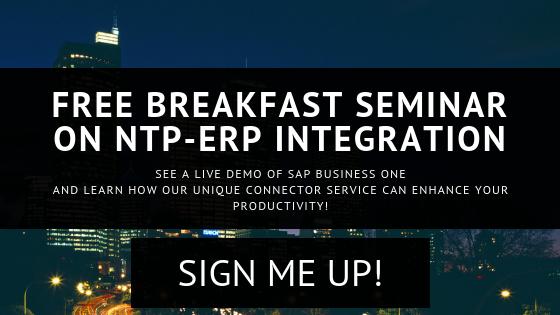 SAP on NTP Seminar - 26 Oct 2018