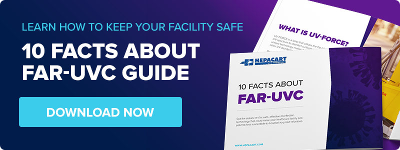 Learn how to keep your facility safe with the 10 facts about Far-UVC guide.