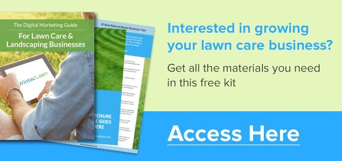 Lawn Care Business Kit