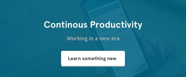 Continous Productivity