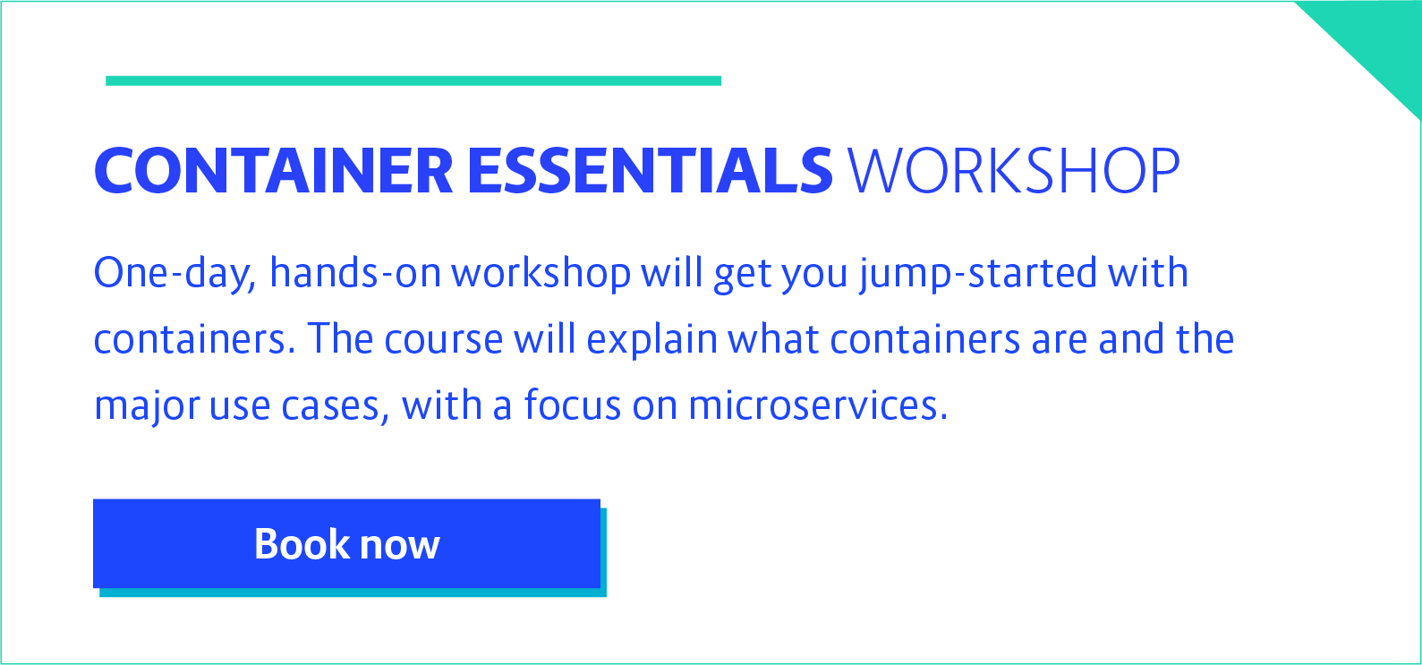 container essentials workshop