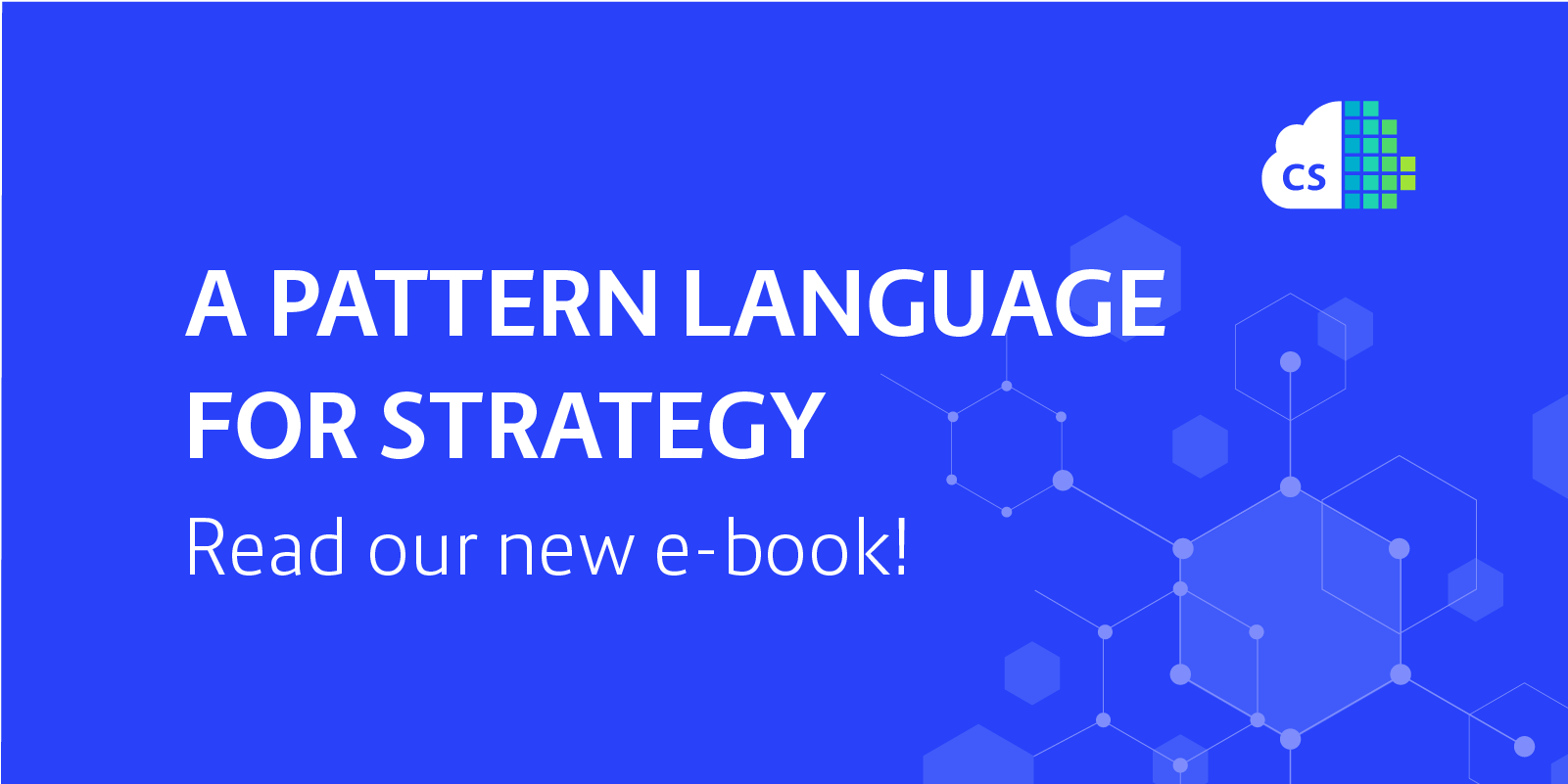 A Pattern Language for Strategy