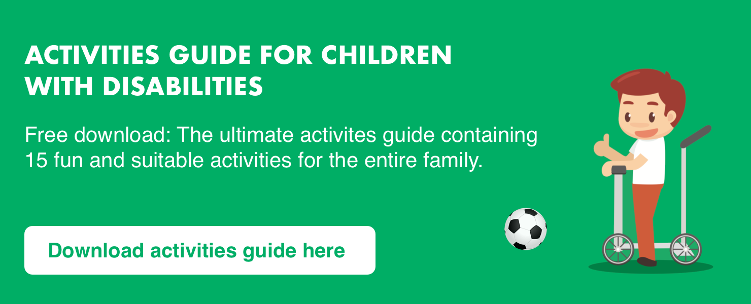 Activities guide for kids with disabilities
