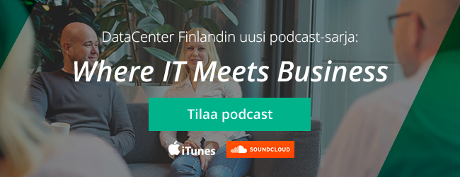 Seuraa Where IT Meets Business -podcastia
