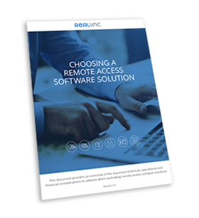 Download choosing a remote access software solution