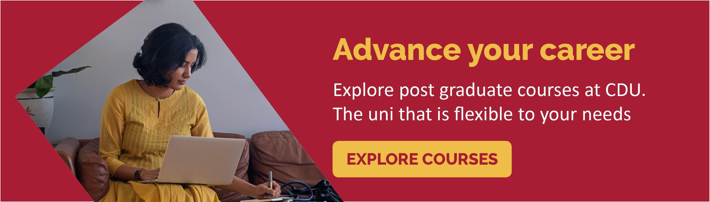Explore postgrad courses