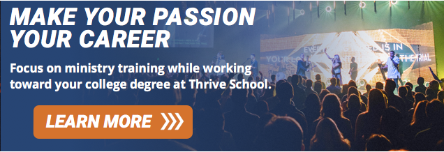 Make Your Passion Your Career at Thrive School!