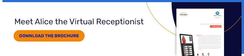 download the ALICE virtual receptionist brochure