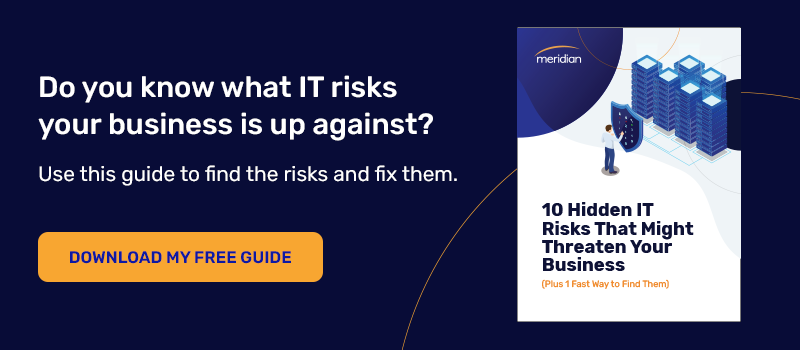 Download eBook: 10 Hidden IT Risks That Might Threaten Your Business