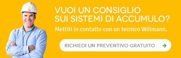 Richiedi un preventivo gratuito sistemi di accumulo