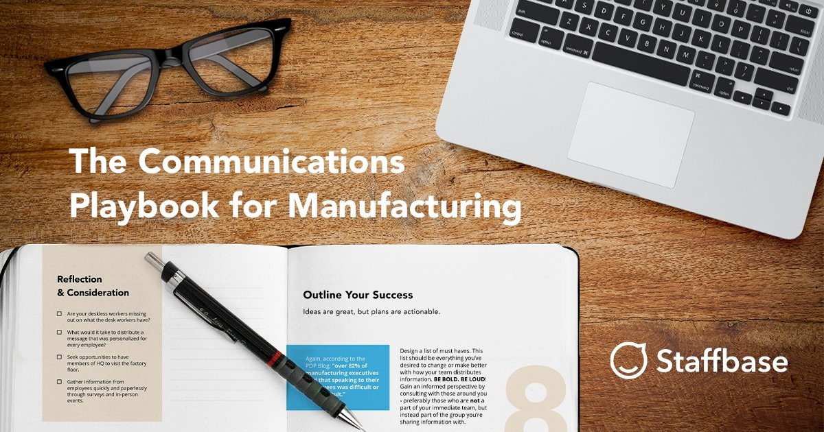 The manufacturing playbook for internal communicators