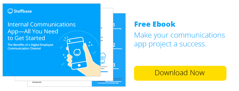 Free Ebook: Internal Communications App - 8 Key Points To Get Started