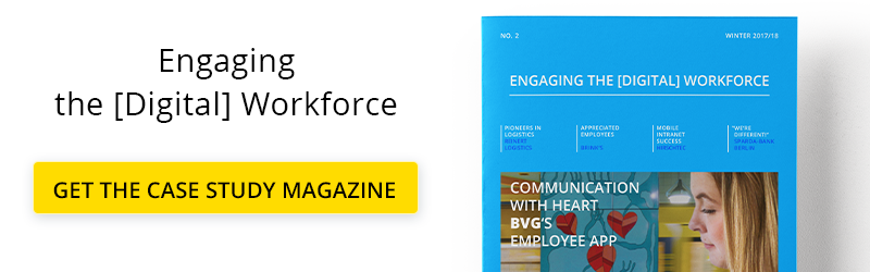 Case Study Magazine: Engaging the [Digital] Workforce