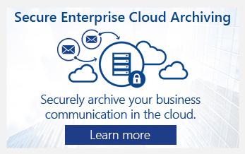 GWAVA Cloud Archiving