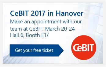 Get your free CeBIT Ticket