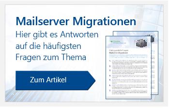 Mailserver Migrationen FAQ