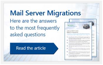 Mailserver Migrations FAQ eng