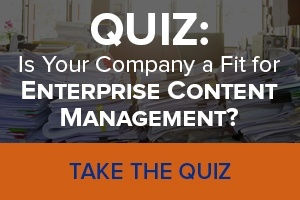 Enterprise Content Management Quiz