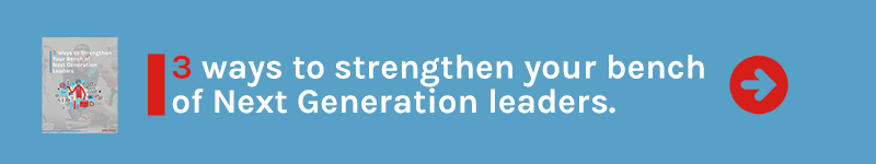 Free Guide: 3 Ways to Strengthen your Bench of Next Generation Leaders
