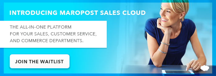 Join the Maropost Sales Cloud waitlist