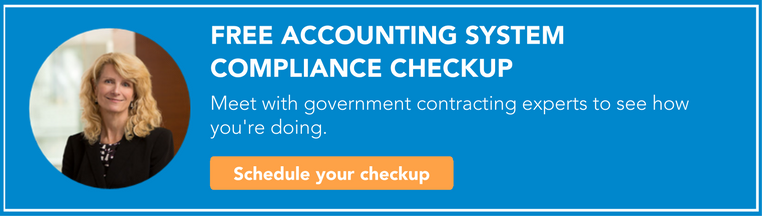 accounting system compliance checkup