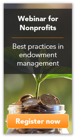 Register for our free 8-16-16 webinar on nonprofit endowment management!