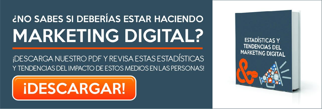 PDF de estadísticas y tendencias del marketing digital