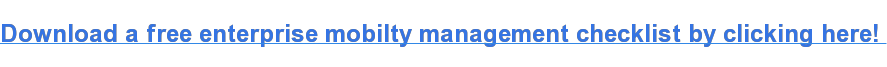 Download a free enterprise mobilty management checklist by clicking here!