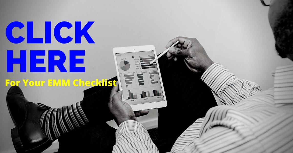 free enterprise mobility management checklist