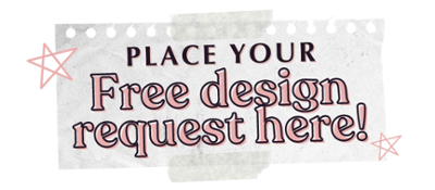 place your free design request