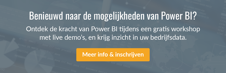 Benieuwd naar de mogelijkheden van Power BI?