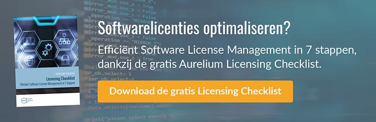 Software licensing checklist
