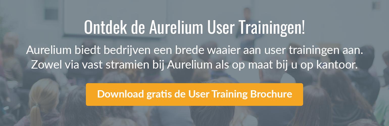 Download gratis de User Training Brochure
