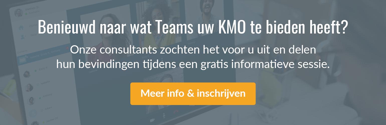 Schrijf in voor een gratis Microsoft Teams Workshop