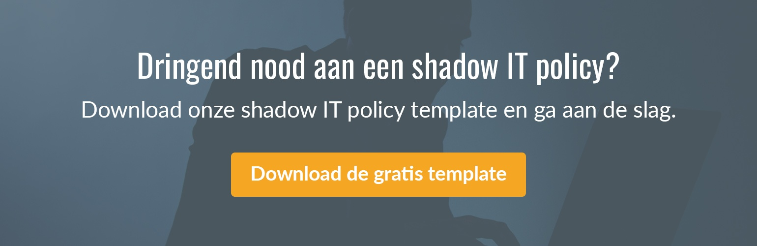 Download onze shadow IT policy template.