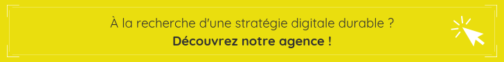 Agence de stratégie digitale durable  et marketing responsable